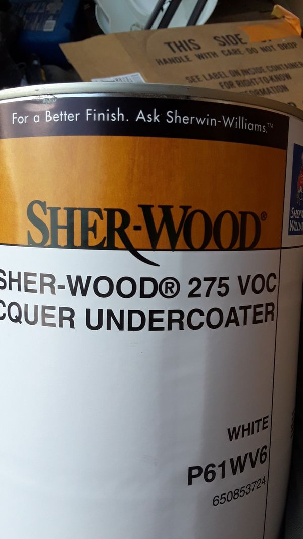 Sherwood Lacquer Undercoater