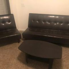 Futon And Chair Set Red Parson Chairs New Used Futons For Sale In Durham Nc Offerup Leather Couch Raleigh