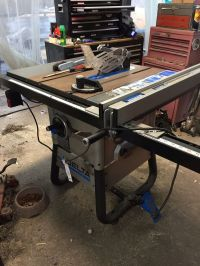 Delta table saw , $400 or best offer must pick up, need a