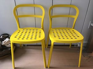 yellow chairs for sale chair cover hire falkirk new and used in york ny offerup