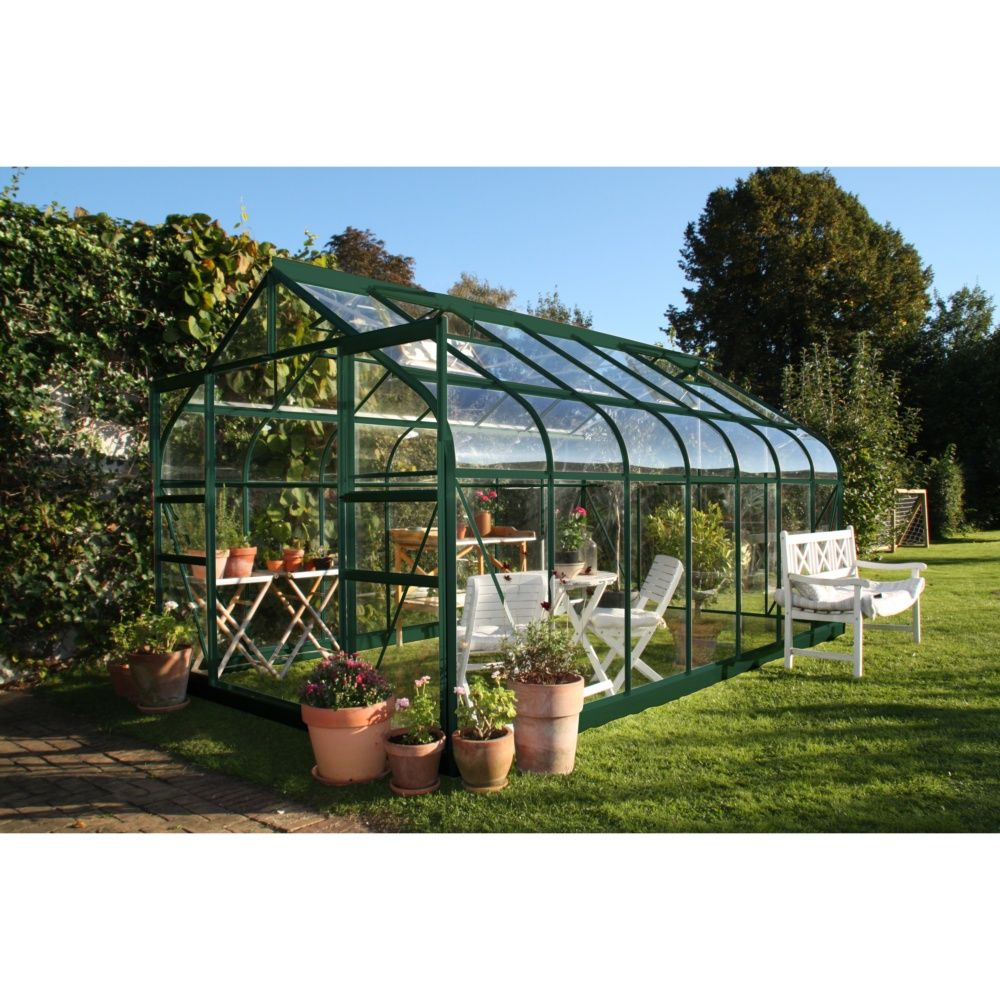 Serre de jardin Supreme verre tremp 114m  Halls  Plantes et Jardins