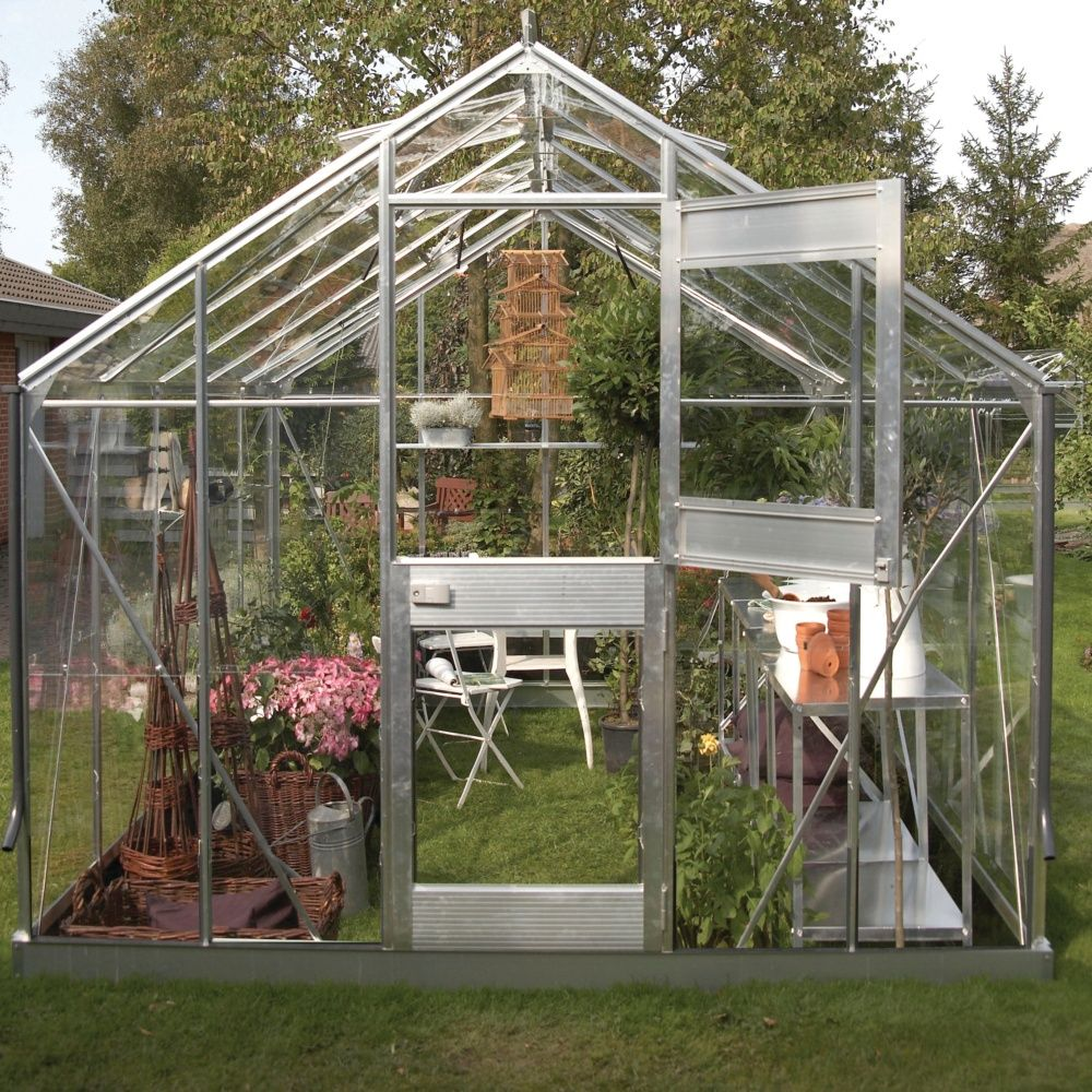 Serre de jardin Compact Plus polycarbonate 99 m  Juliana  Plantes et Jardins