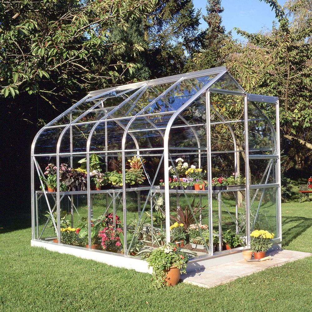Serre de jardin Supreme verre horticole 5 m  Halls  Plantes et Jardins