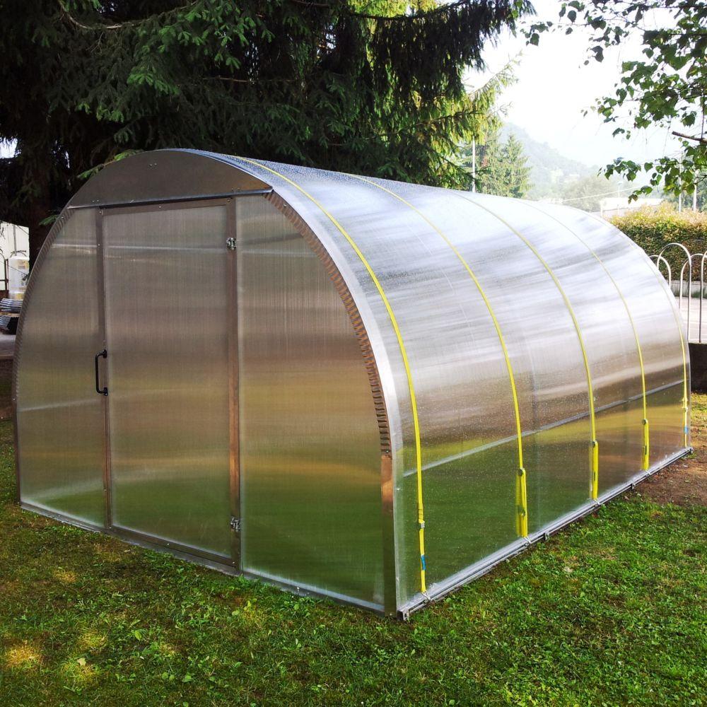 Serre Polycarbonate Anthéa 1280 M²  Plantes Et Jardins