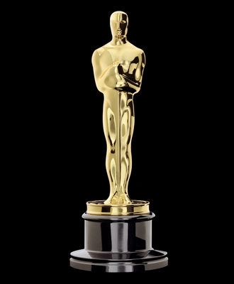 "The Oscar statuette is the copyrighted property of the Academy of Motion Picture Arts and Sciences, and the statuette and the phrases ""Academy Award(s)"" and ""Oscar(s)"" are registered trademarks under the laws of the United States and other countries."