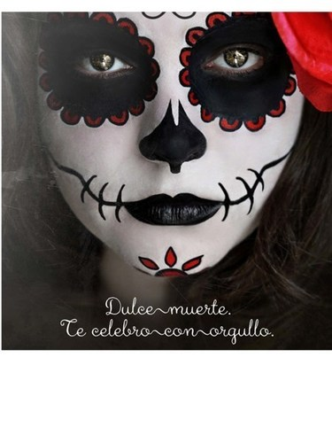 Candy Skull Face Paint : candy, skull, paint, HERDEZ®, Brand, Celebrates, Sugar, Skull, Painting, Prizes