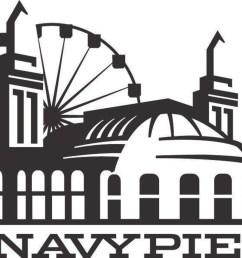 navy pier logo [ 2700 x 2112 Pixel ]