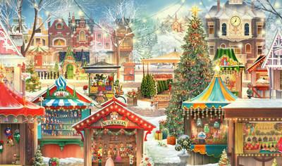 New Jacquie Lawson 'Christmas Market' Advent Calendar Released