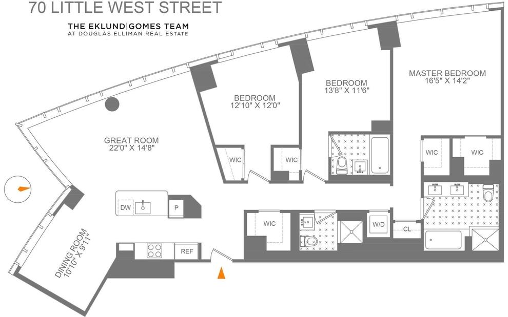 70 Little West Street, New York, NY 10280: Sales