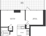 1 Bedroom at Crescent Street for $2,475 Posted Apr-24-2014