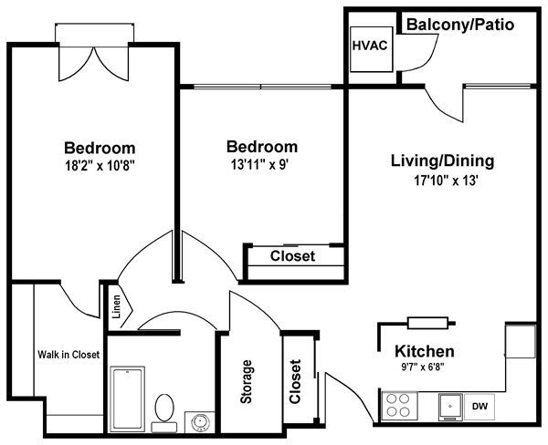 Rosehaven Manor, Flint. Apartment details, comments and