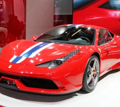 Ferrari 458 Speciale Car picture 2014 on Road