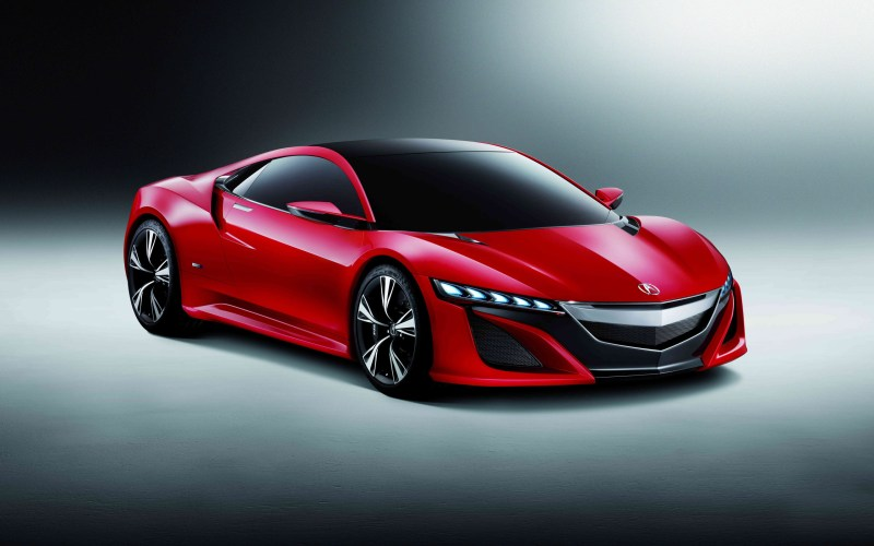 ACURA NSX Red CONCEPT