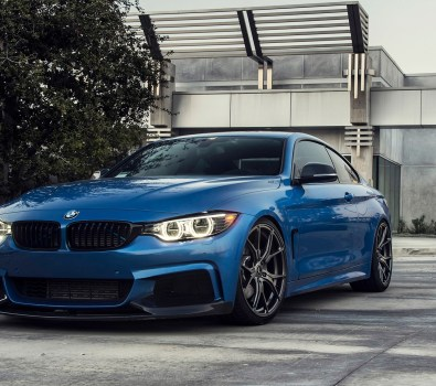 Pics of Vorsteiner Flow Forged V-FF 103 for the BMW F32 435i