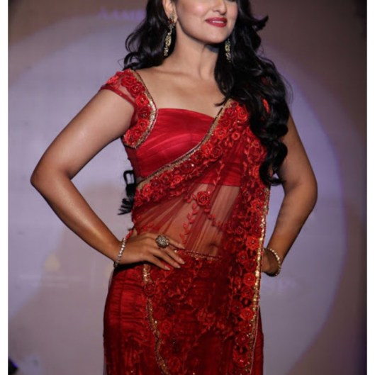 Sonakshi Sinha Pictures in Romantic Mode