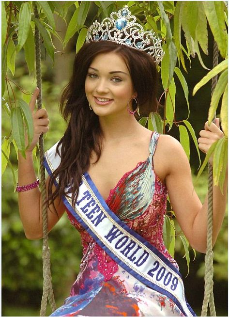 Amy Jackson Miss Teen World 2009 Pictures