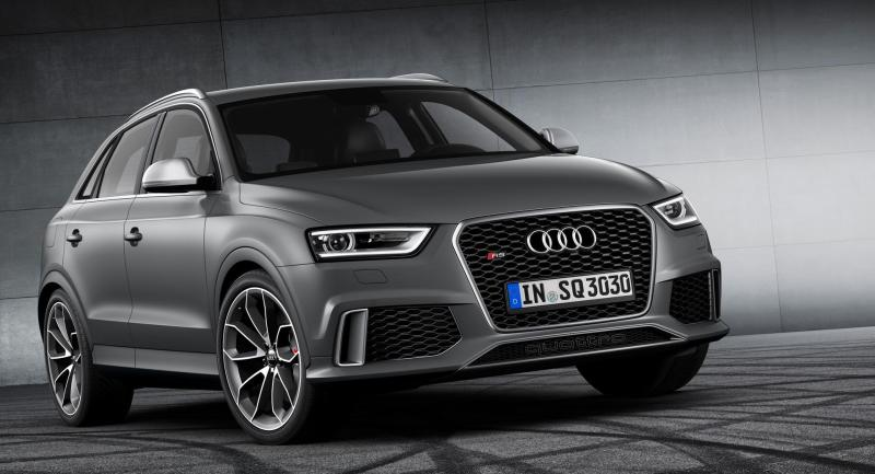 Audi Q3 Front Logo In Black  hd Photos