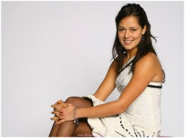 Wallpaper of Ana Ivanovic is a Serbian professional tennis player