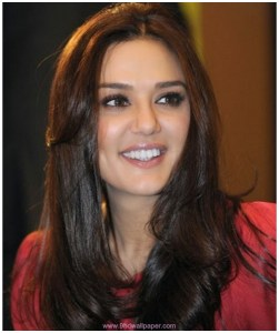 Preity Zinta Comparing wearing jeas