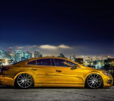 New Volkswagen CC on CW-12's Concave