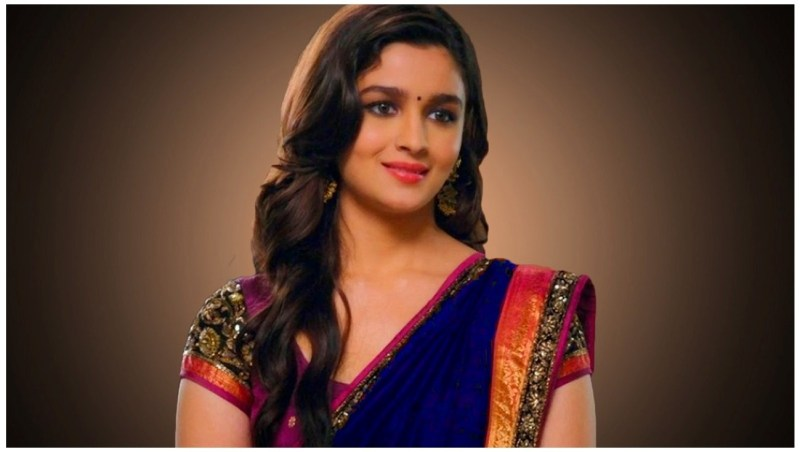 Alia Bhatt Photos in Indian saree