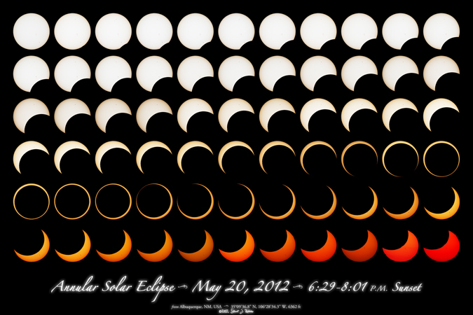 Annular Solar Eclipse Montage, Type 0, Version 1.3