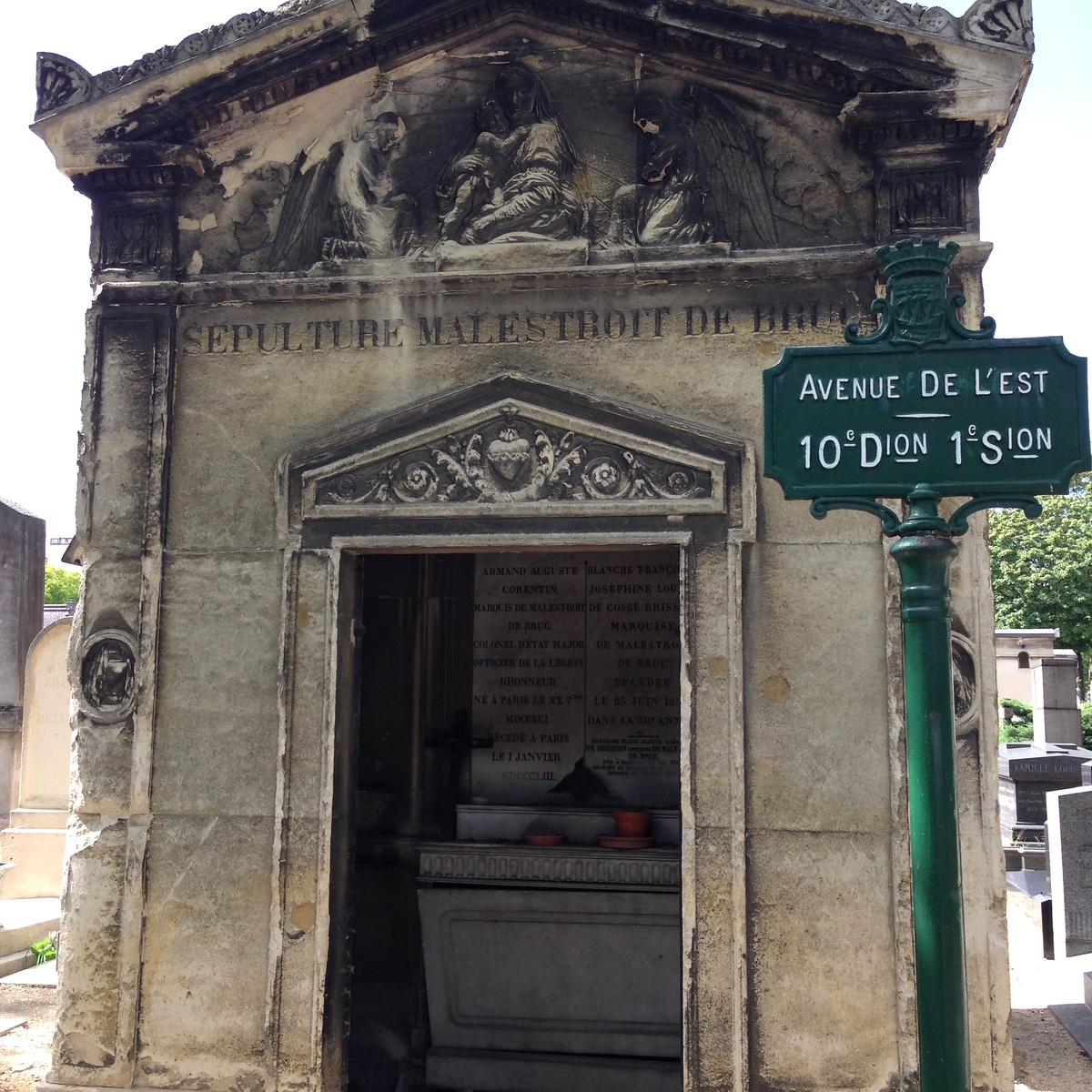 A Stunning Sepulchre at the Montparnasse Cemetery in Paris, France
