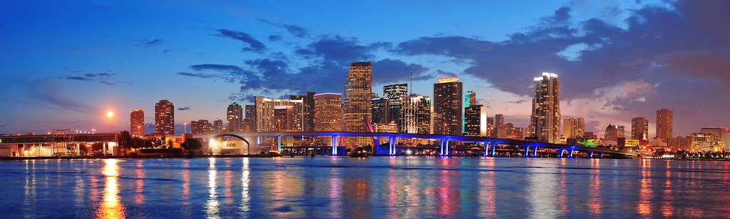 Miami Skyline by Layover Guide