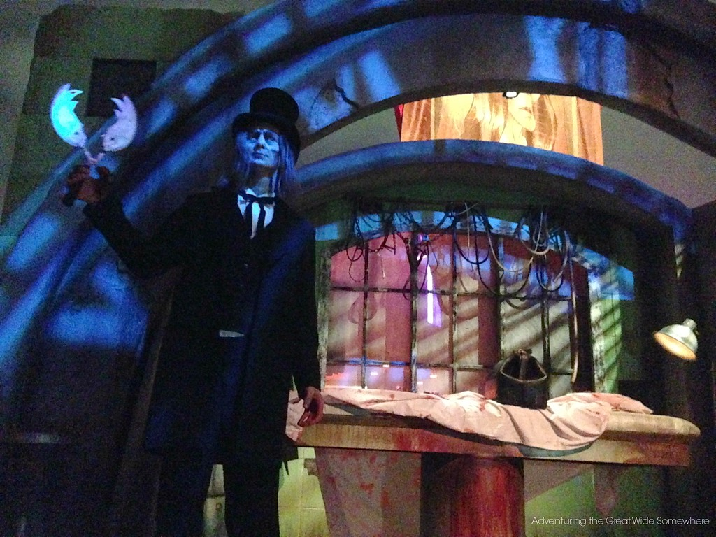 The Caretaker Returns for Halloween Horror Nights 25 at Universal Orlando