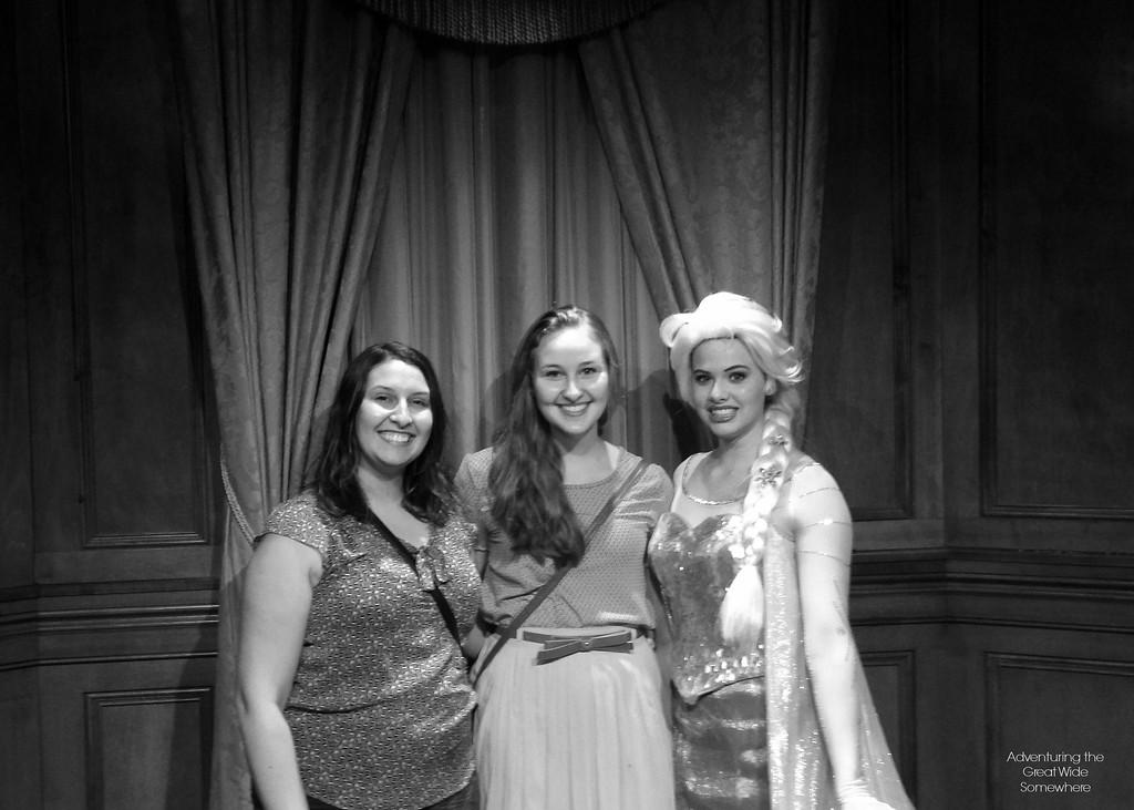 Meeting Queen Elsa at Walt Disney World's Magic Kingdom