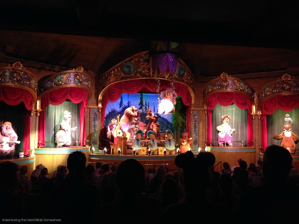 Finale of The Country Bear Jamboree at Walt Disney World