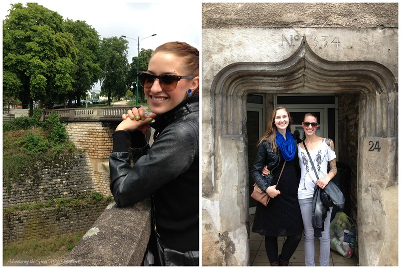 My Beautiful Sisters Exploring the Streets of Chaumont, France