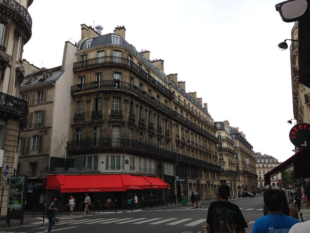 Hausmannian Buildings in the Ninth Arrondissement of Paris, France