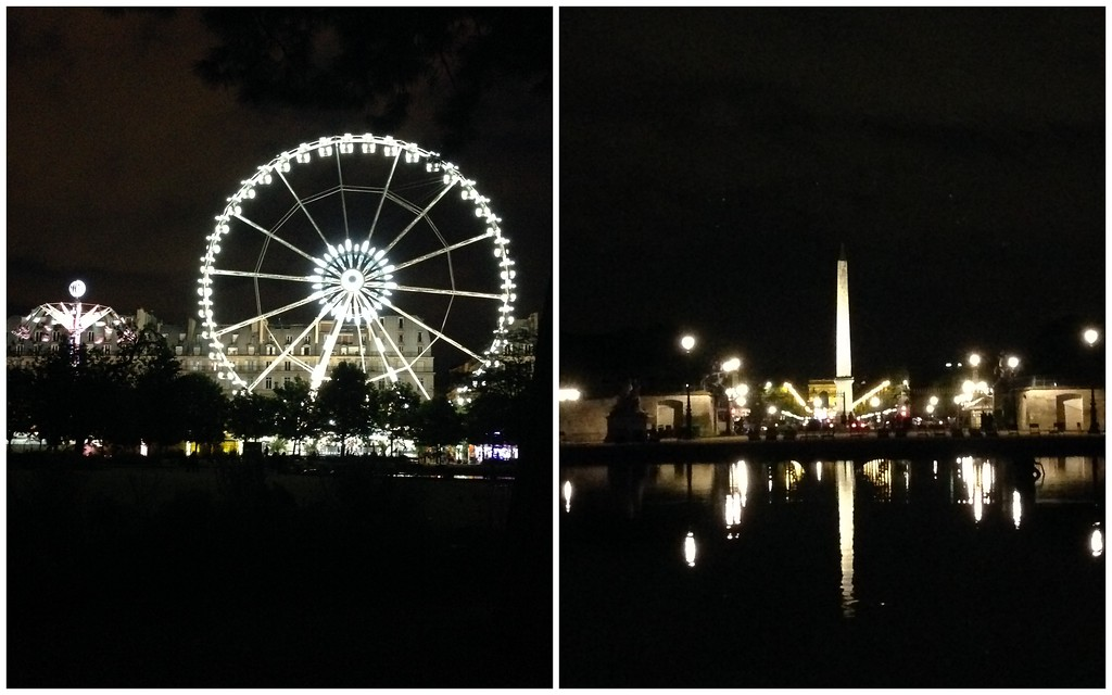 The Ferris Wheel and Obelisque, Both Seen from the Tuileries Gardens in Paris
