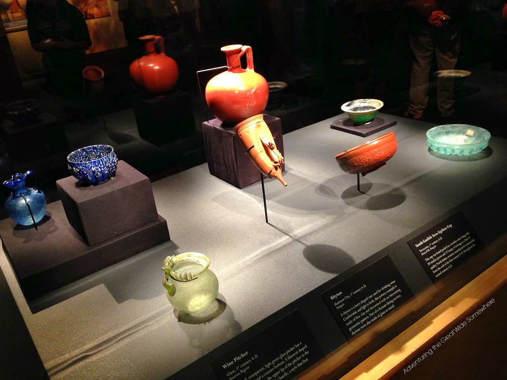 A Sampling of Dishes Once Used in Pompeii