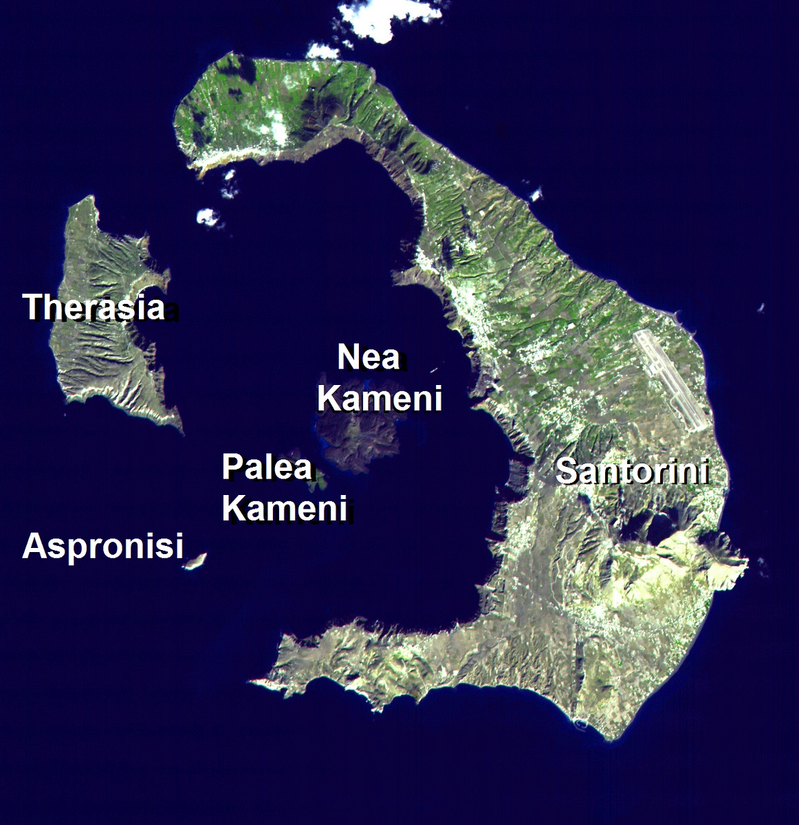 Greek Islands Map, Wikipedia