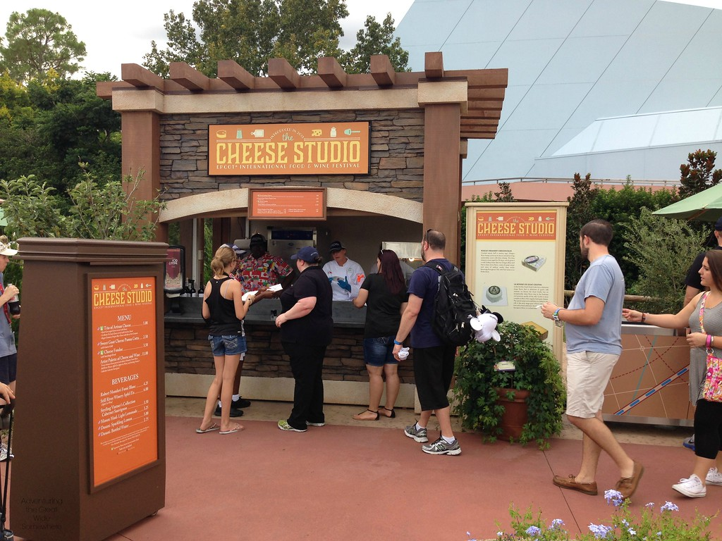 Cheese Studio Outdoor Kitchen at the 2015 Epcot International Food and Wine Festival at Walt Disney World