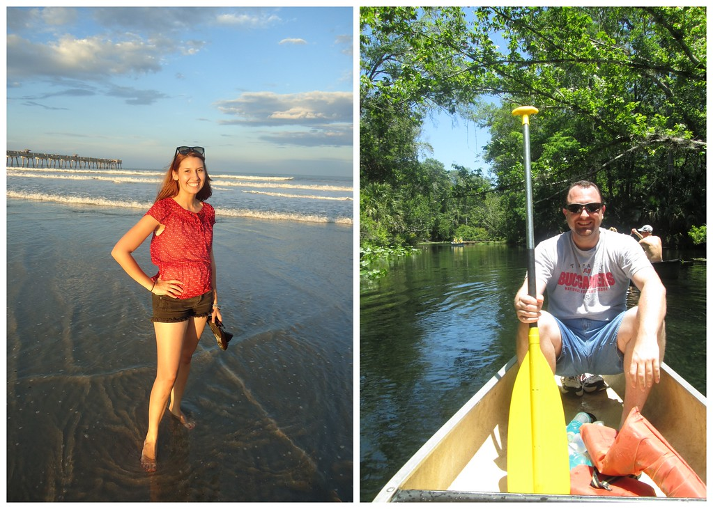 Exploring Jacksonville Beach and Canoeing on the Wekiva River, Florida