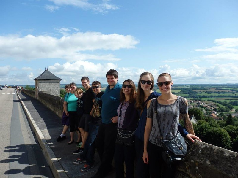Taking in the Views on the Fortified Walls of Langres, France