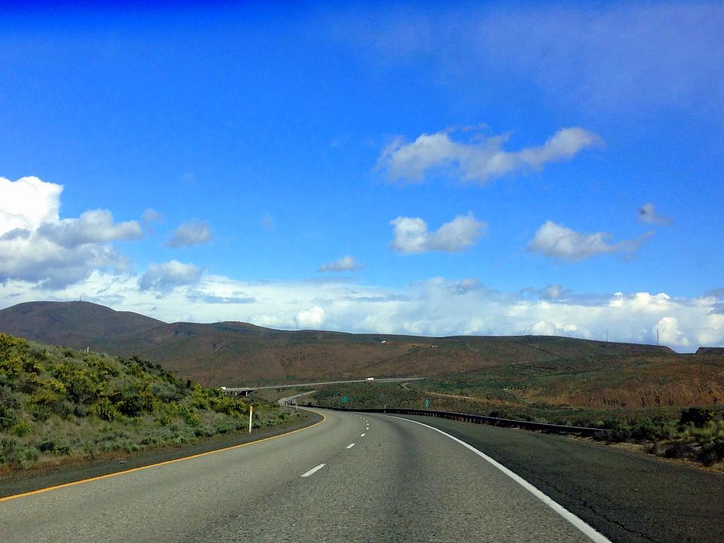 On the Open Road in the Yakima Valley, Washington