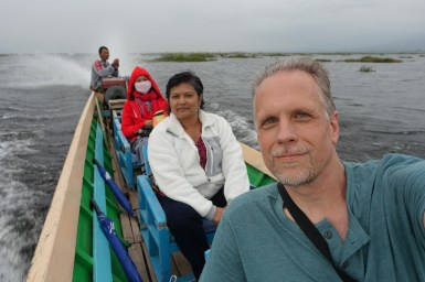 Inle Lake – Jetty, On Water & Hotel Arrival