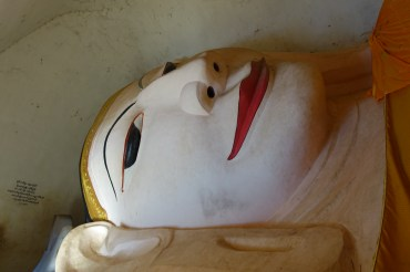 Bagan – Manuha & Nanpaya Temples