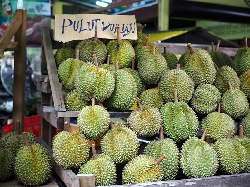 choosing durian
