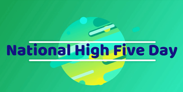 2018 National High Five Day