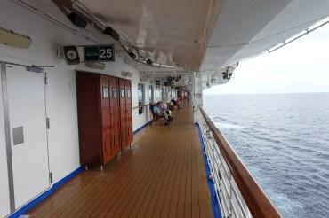 Princess Panama Cruise – Deck 7 Walking Track