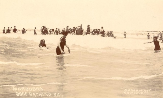 Maroubra Surf Bathing c 1910