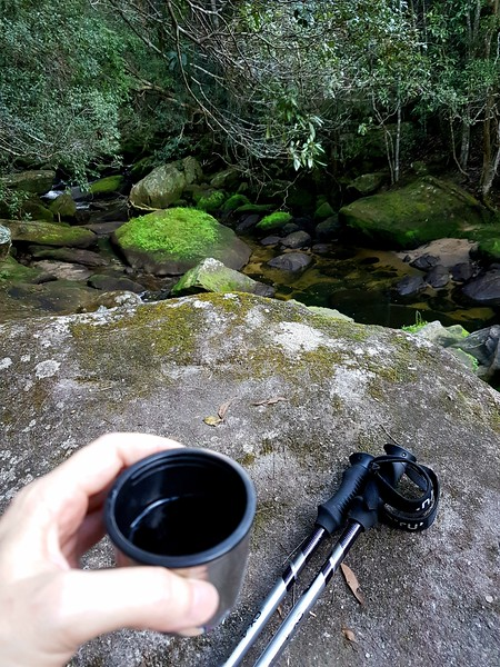 A cup of tea in the bush is part of a weekend adventure in Sydney
