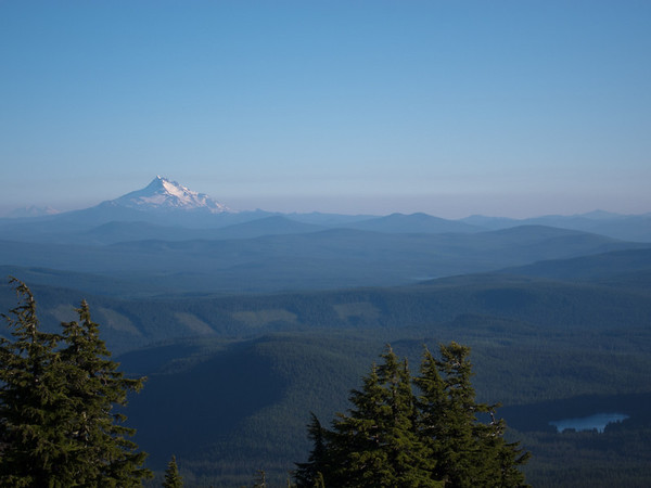 Mt. Jefferson from Mt. Hood, Oregon