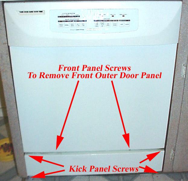 kitchen aid dishwashers las vegas strip hotels with appliantology dishwasher kickplate access
