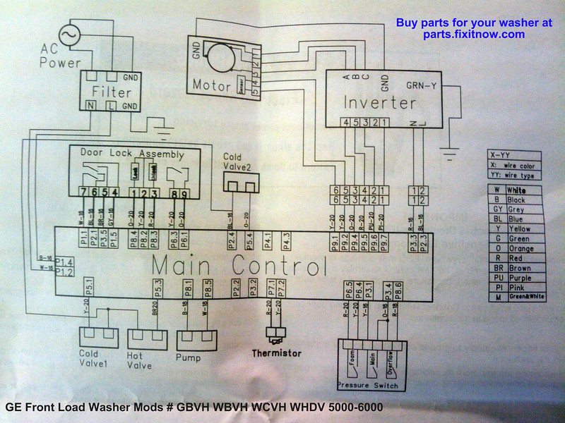 ge front load washer wiring diagram 7 3 powerstroke engine diagrams and schematics appliantology mods gbvh wbvh wcvh whdv 5000 6000
